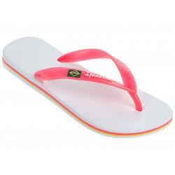 Tongs Ipanema Classica Brasil II White / Pink Neon