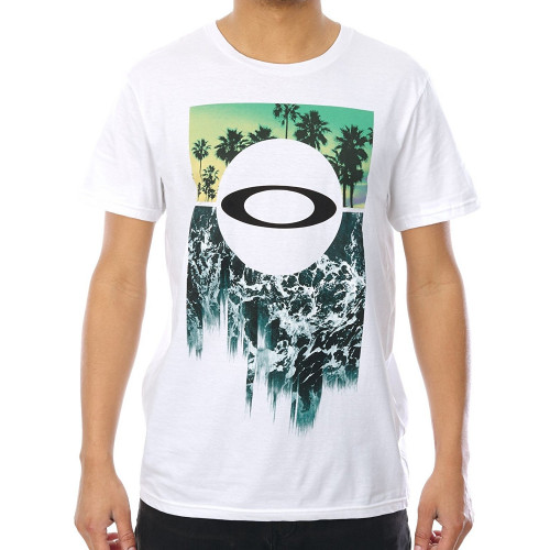 Tee-shirt Oakley I Surf White
