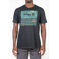 Tee shirt Hurley Borderline Fill Black