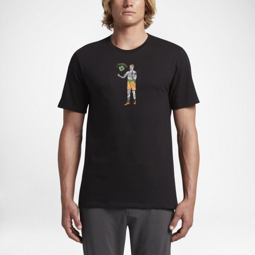 Tee-shirt Hurley Fight This Black