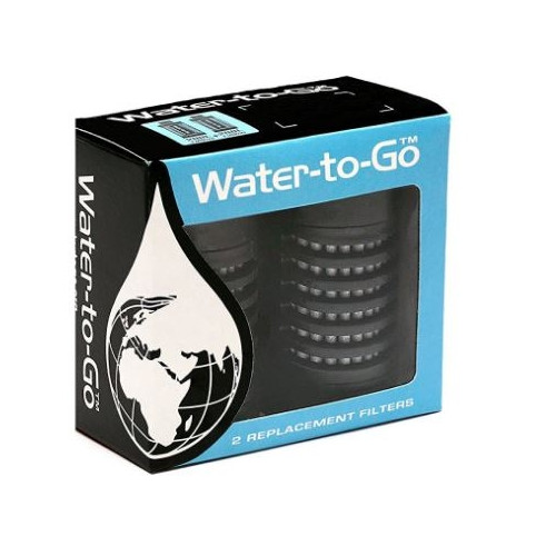 PACK FILTRES GOURDE WATER TO GO
