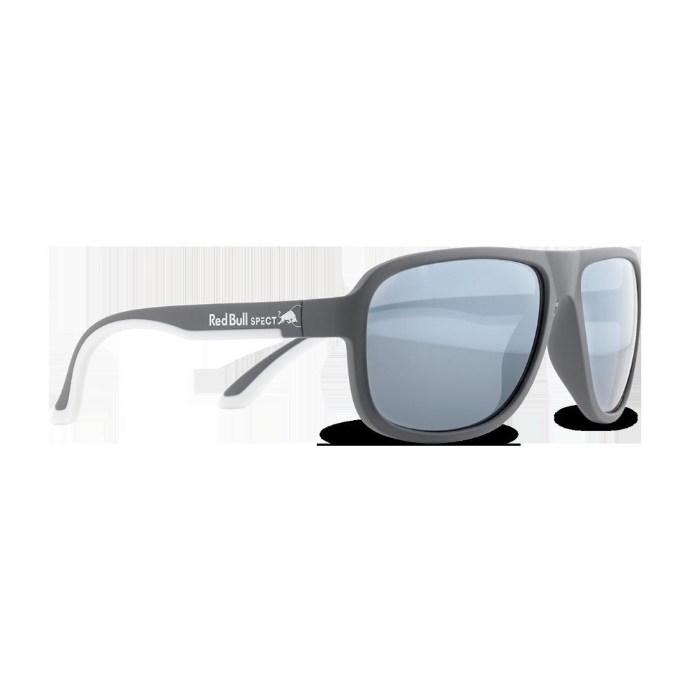 Sonnenbrille rot Bull Loop Matt Dark grau