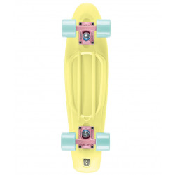 "Skate Osprey Pastel Yellow 22"" Plastic Cruiser"