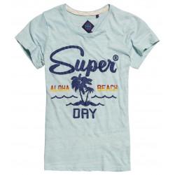 T-shirt Superdry Tri Colour Tropical Palm Green