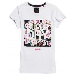 T-shirt Superdry International Boxed Optic