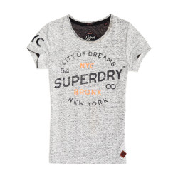 T-Shirt Superdry City Of Dreams Tee Black