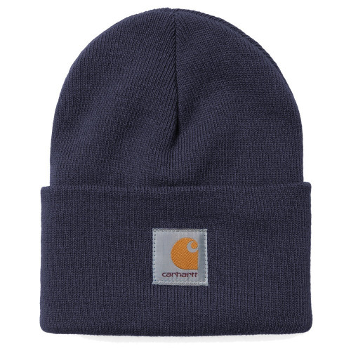 bonnet carhartt acrylic watch hat navy precision ski. Black Bedroom Furniture Sets. Home Design Ideas