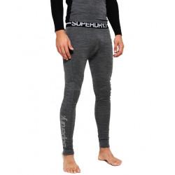 Legging Thermique Superdry Merrino Base Layer Grey