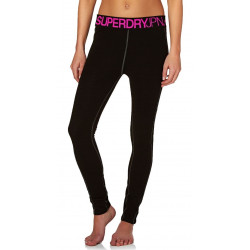 Legging Thermique Superdry Merino Base Layer Black