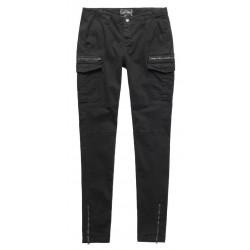 Pantalon Superdry Super Skinny Cargo Black
