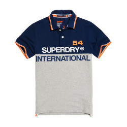 Polo Superdry International Rich Navy