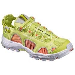 Chaussures Randonnée Salomon Techamphibian Lime