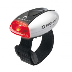 Lampe Sigma Micro Argent LED Rouge