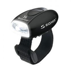 Lampe Sigma Micro Noir LED Blanche