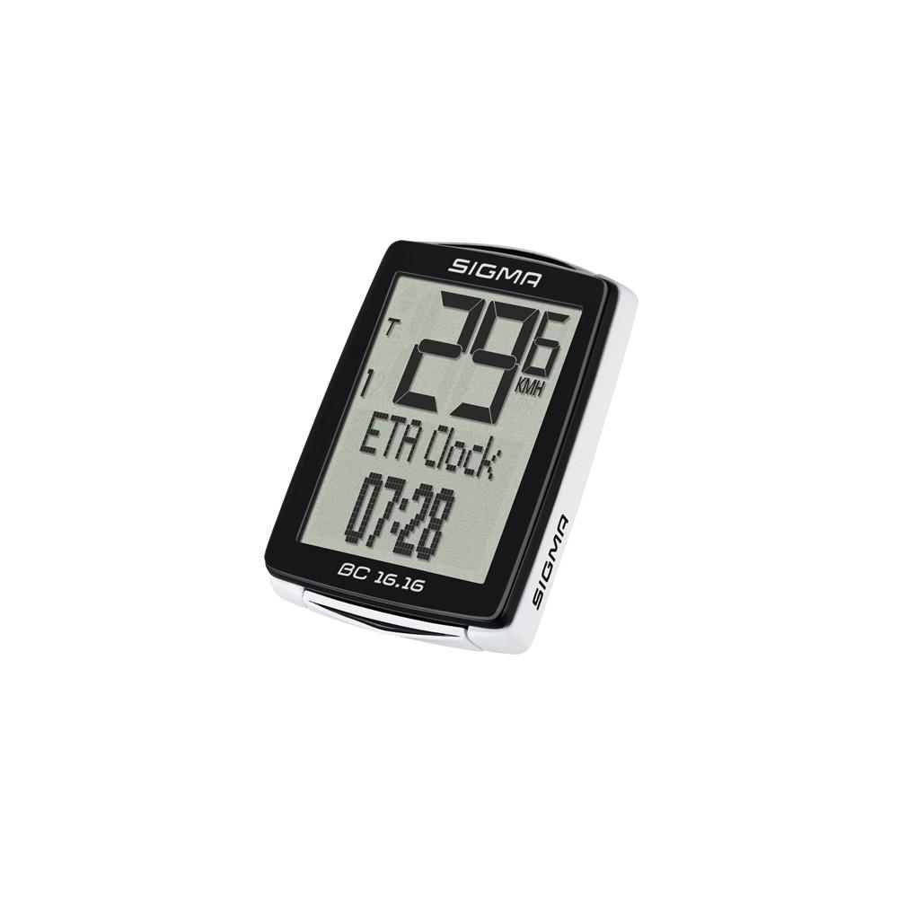 Compteur Vélo Sigma Bc 16.16 Sts noir