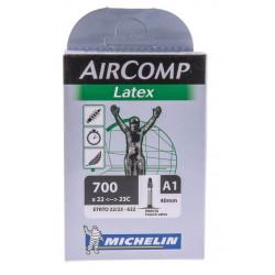 Chambre à Air Michelin Aircomp Latex 700x22 40mm