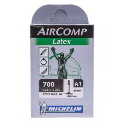 Chambre à Air Michelin Aircomp Latex 700x22 60mm
