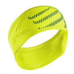 Bandeau Compressport Headband Fluo Yellow