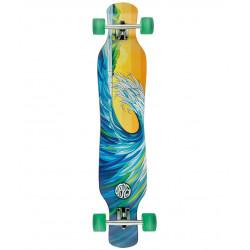 """Longboard Osprey Wave 46"""" Blue"""