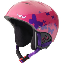 Casque De Ski Bollé B-Kid Shiny Pink Butterfly