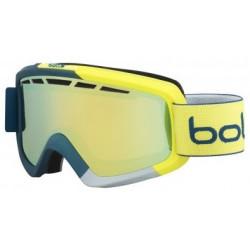 Masque De Ski Bollé Nova II Matte Blue & Yellow