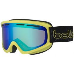 Masque De Ski Bollé Schuss Shiny Lime Green Emerld