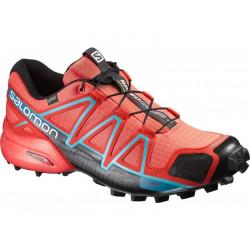 Chaussures Salomon Speedcross 4 Gtx W Coral Punch