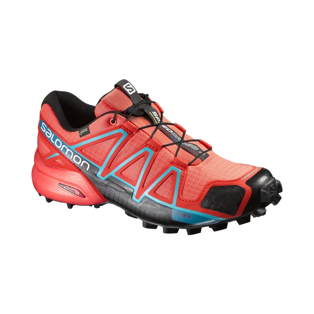 Chaussures Salomon Speedcross 4 Gtx W Coral Punch par Precision Ski