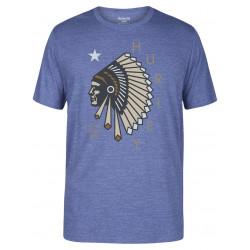 T-shirt Hurley Respected Tri-Blend Blue Moon