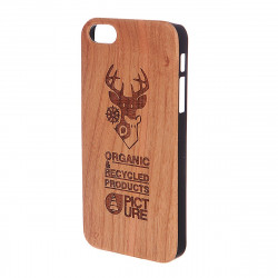 Coque Iphone 5 Picture Organic Wooden Case