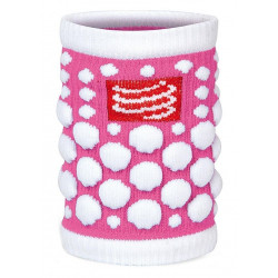 Serre-Poignets Compressport Sweat Band Dots Pink