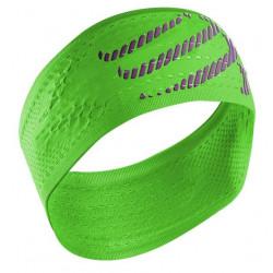 Bandeau Compressport Headband Fluo Green
