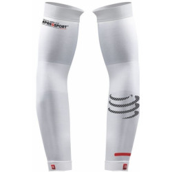 Manchettes Compressport ProRacing Arm Sleeve White