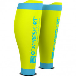 Manchons Compressport Calf R2 V2 Fluo Yellow