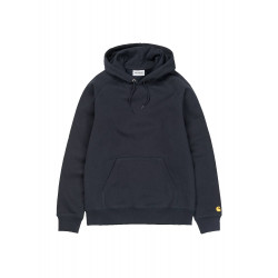 Sweat à Capuche Carhartt Hooded Chase Navy / Gold