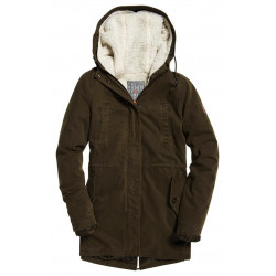 Veste Superdry Rookie Sherpa Drill Khaki