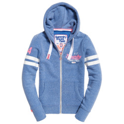 Sweat Superdry Track & Field Sprinter Blue Snowy