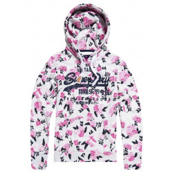 Sweat Superdry Premium Goods Aop Entry Ice Marl