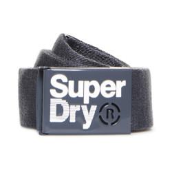 Ceinture Superdry Single Solo Belt Grey