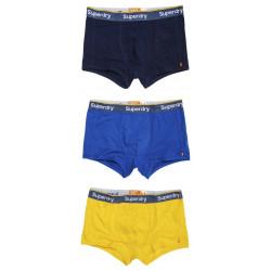 Pack 3 Boxers Superdry Orange Label Sport Richest