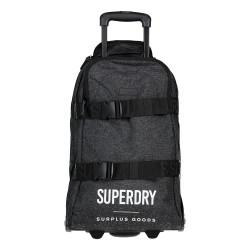 Valise Superdry Surplus Goods Luggage Black Marl