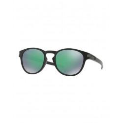 Lunettes De Soleil Oakley Latch Matte Black Prizm Jade