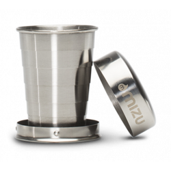 Verre Pliant Mizu Shot Glass 60 ML Stainless