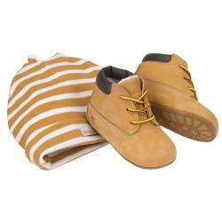 Coffret Chaussures Timberland Crib Bt Hat Wheat