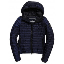 Doudoune Superdry Core Down Hooded Navy