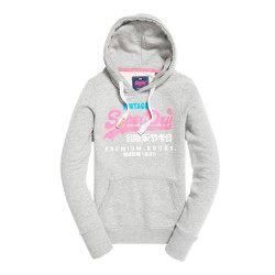 Sweat Capuche Superdry Premium Gods Grey Snowy