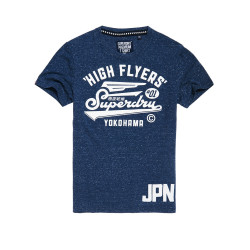 T-shirt Superdry High Flyers Reworked Midnight