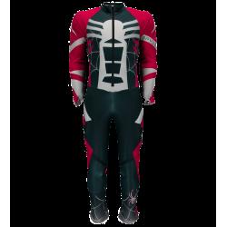 Combinaison De Ski Compétition Spyder Boy's Nine Ninety Frontier Red White