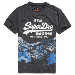 T-shirt Superdry Vintage Logo Mountaineer Charcoal