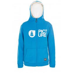 Sweat Capuche Picture Organic Basement Plush Blue